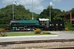 Steam locomotive. Old steam locomotive, at hua hin train station Stock Image