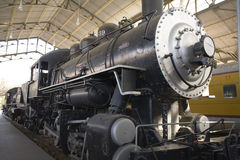Steam locomotive 3. The front of an old Steam locomotive Royalty Free Stock Photo