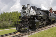 Steam Locomotive 3. A steam locomotive Stock Photos