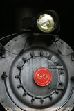 Steam locomotive. Front of boiler of steam locomotve Stock Photography