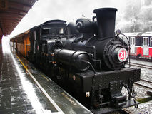 Steam Locomotive Alishan Forest Railway Stock Photography
