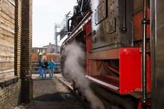 Steam locomotive Royalty Free Stock Photography