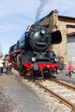 Steam locomotive Borsig 03 2155-4 (DRG Class 03) Stock Photos