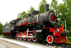 Steam locomotive, Butterfly Royalty Free Stock Images