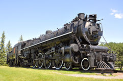 Steam Locomotive Canadian National Stock Photography