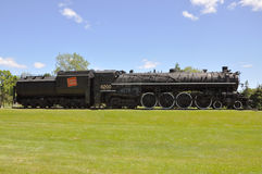Steam Locomotive Canadian National Stock Photo