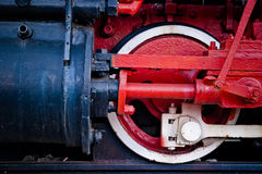 Steam locomotive detail Stock Photography