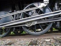 Steam Locomotive Detail Royalty Free Stock Photos
