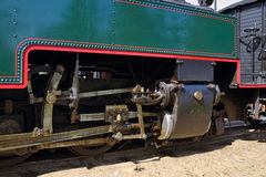 Steam locomotive detail Royalty Free Stock Image