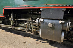 Steam locomotive detail Stock Photo