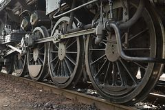 Steam Locomotive Detail Stock Photos