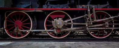 Steam Locomotive detail Royalty Free Stock Photo