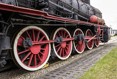 The steam locomotive Royalty Free Stock Images