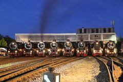 Steam Locomotive Royalty Free Stock Images