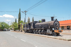 Steam locomotive in Fauresmith Stock Image