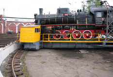 Free Steam Locomotive In Museum By Side Stock Photography - 9297512