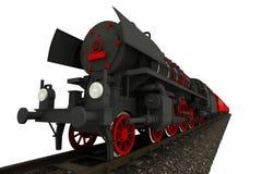 Steam Locomotive Isolated Stock Photos