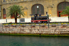Steam locomotive,Istanbul Stock Images