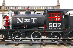 Steam locomotive IV Royalty Free Stock Images