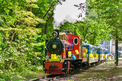 Steam locomotive in Kiev Stock Photography