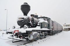 Steam locomotive. Royalty Free Stock Photography
