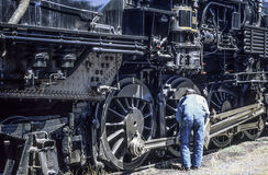 Steam locomotive Stock Photo