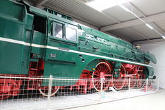 Steam Locomotive. In the Museum Stock Photography