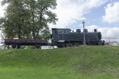 Steam locomotive in Museum Stock Photos