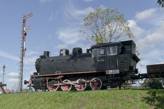 Steam locomotive in Museum Royalty Free Stock Photography