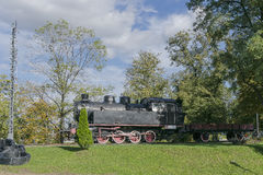 Steam locomotive in Museum Royalty Free Stock Image