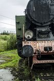 Steam locomotive, railway Stock Photo