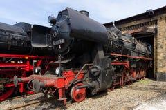 Steam locomotive Raw Stendal DR Class 52.80 (Kriegslokomotive) Stock Image