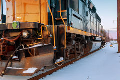 Steam locomotive running Stock Photography