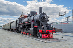 Steam locomotive series Ea  in the Museum Royalty Free Stock Photos