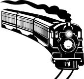 Steam locomotive train Royalty Free Stock Photos