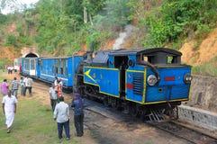 Steam locomotive train. Engine. Meter gauge train Royalty Free Stock Photography