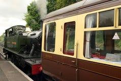 Steam Locomotive Train GWR 4500 Class Small Prairi Royalty Free Stock Photos