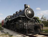 Steam Locomotive Under A Blue Florida Sky Stock Images