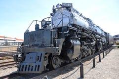 Steam locomotive Union Pacific 4012. In Steamtown National Historic Site in Scranton, Pennsylvania Stock Photo