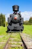 Steam locomotive. In Viglas, Slovakia Royalty Free Stock Photography