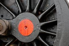 Steam locomotive wheel Royalty Free Stock Photo