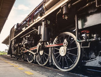 Steam Locomotive Wheel Engine Train Engine Royalty Free Stock Photos