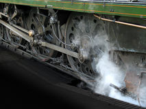 Free Steam Locomotive Wheels Royalty Free Stock Photography - 2852277