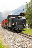 Steam locomotive - Zillertal Bahn - in Austria Royalty Free Stock Images