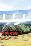 Steam locomotives Royalty Free Stock Photos