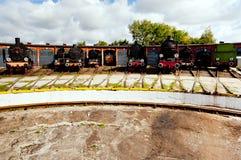 Steam locomotives Royalty Free Stock Photo