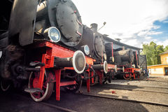 Steam locomotives Royalty Free Stock Photos