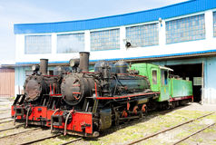 Steam locomotives, Serbia Royalty Free Stock Photo