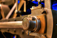 Steam machine (2). Antique industrial machinery in a technical museum Royalty Free Stock Photo