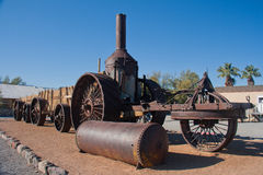 Steam machine at Death Valley National Park Royalty Free Stock Images